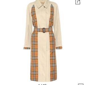 Burberry Guiseley Inside-Out Trench Coat Sz US 2